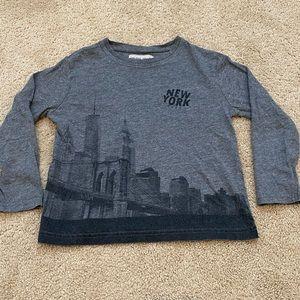Zara Boy's New York City Long-sleeve Tee 5